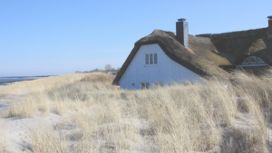 droomhuisje in de duinen