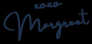 Margreet Stegeman - handtekening